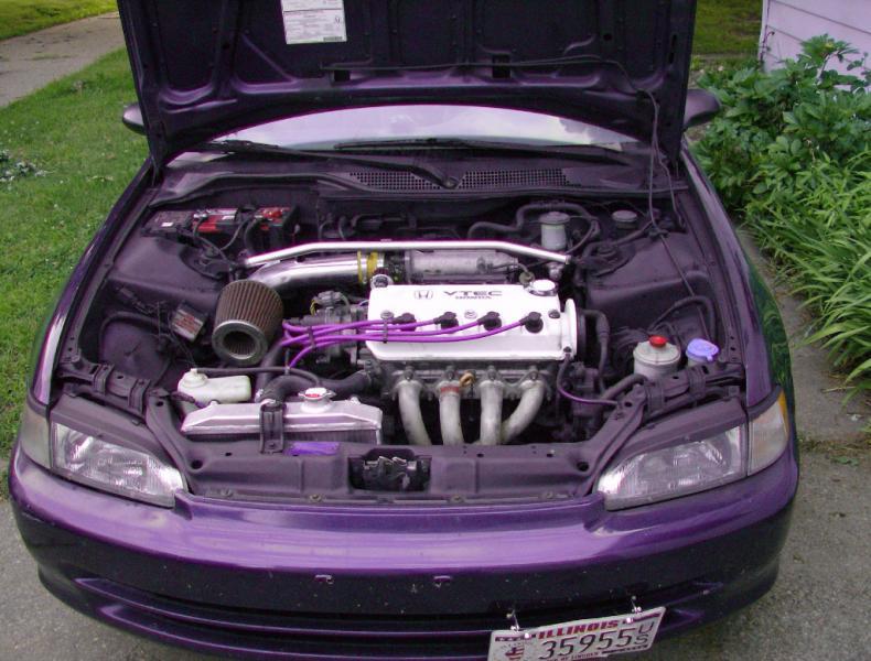 2000 Honda Ex Coupe White