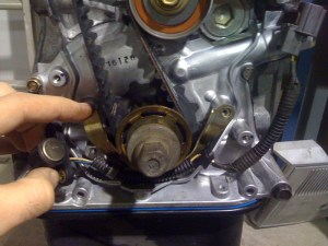 B16 Timing Belt Installation  HondaTech