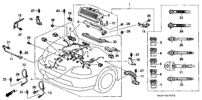 1996 honda civic engine diagram 1998 mercedes ml320 fuel