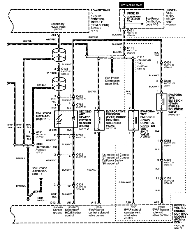 lexus is300 o2 sensor wiring diagram  lexus  auto wiring