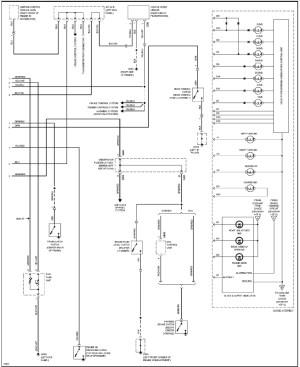 del Sol cluster wiring diagrampinout  HondaTech  Honda