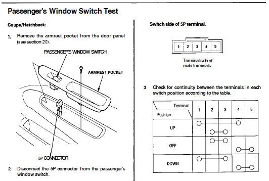2004 Honda Civic Power Window Wiring Diagram The Best: 2004 Honda Civic Window Wiring Diagram At Bitobe.net