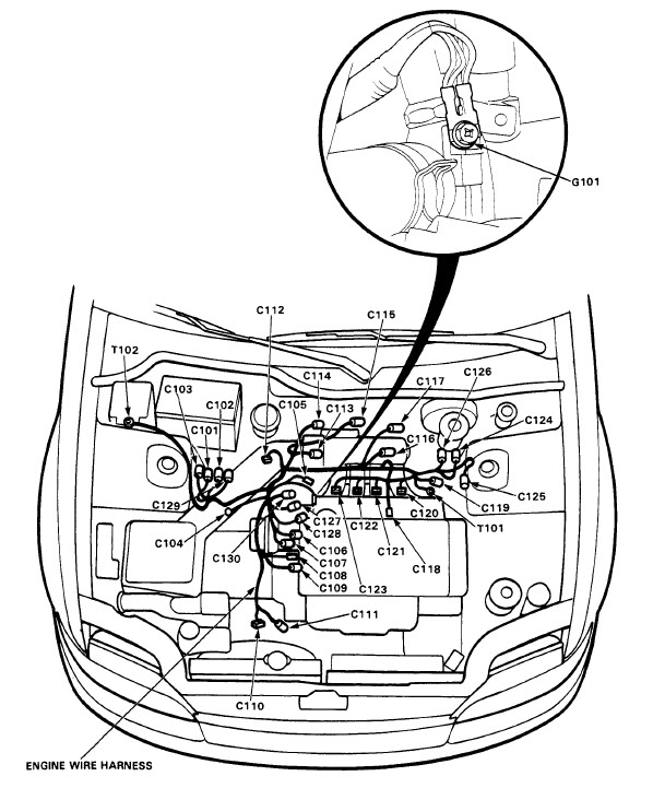 Diagram 1993 Honda Accord Wiring Diagram Diagram Schematic Circuit
