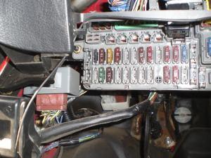 please help, where is the damn horn relay? 92 EG CX