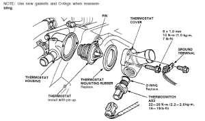 Radiator fan not working  HondaTech  Honda Forum Discussion