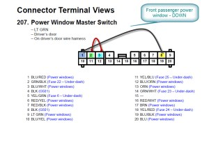2005 CRV Power Windows Master Switch  HondaTech  Honda Forum Discussion