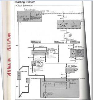 Fuse box continuity (starter wire)  HondaTech  Honda