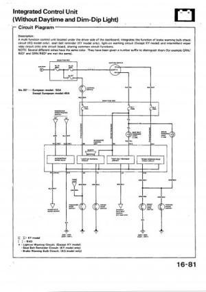 anyone got a dash wiring diagram?  HondaTech  Honda Forum Discussion