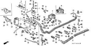 Fuel line leak  Line replacement suggestion?  HondaTech  Honda Forum Discussion