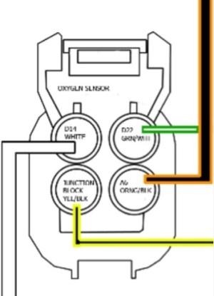 4 wire o2 sensor wiring  HondaTech  Honda Forum Discussion