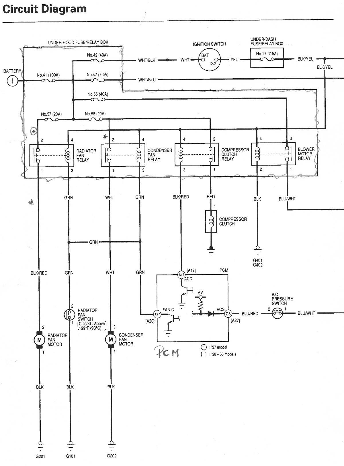 Wiring Diagram For 2001 Honda Cr V - wiring diagrams schematics