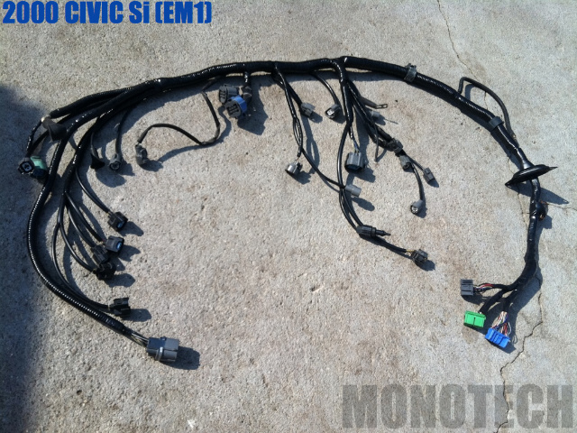 F/S 2000 Civic Si Clean Engine Wire Harness