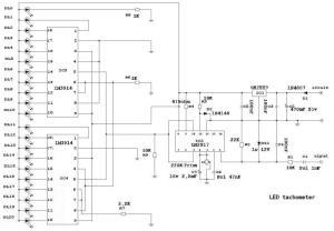 DIY Tachometer LM3914N  HondaTech  Honda Forum Discussion