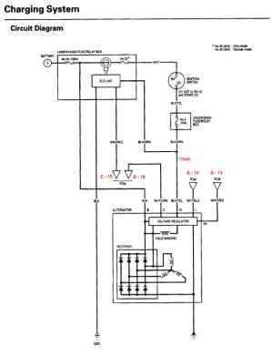 Alternator Not Charging  HondaTech  Honda Forum Discussion