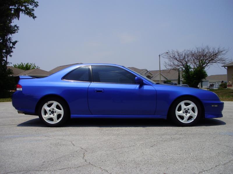 Fl 2001 Honda Prelude Electron Blue 5spd 99k Rare Honda