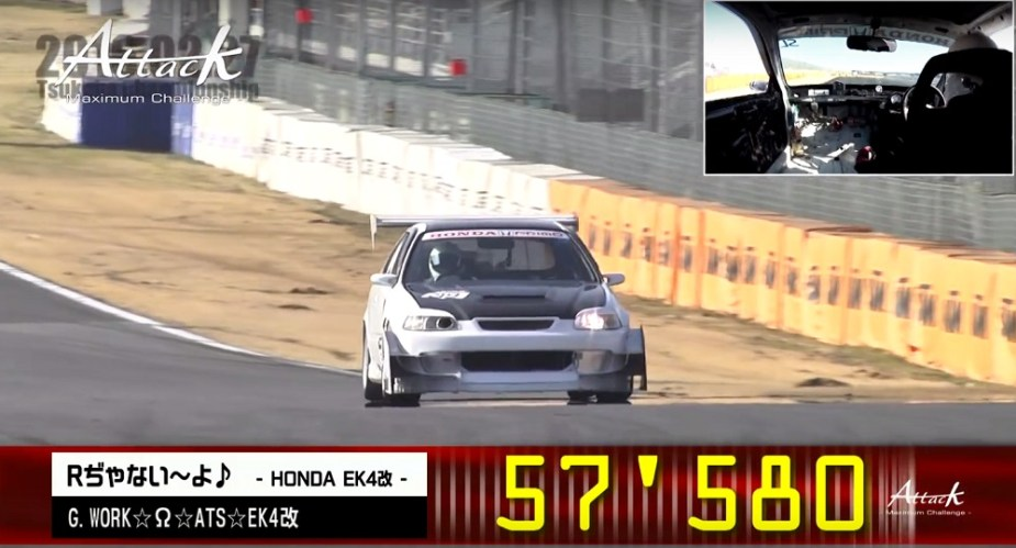honda-tech.com EK civic type R tsukuba lap