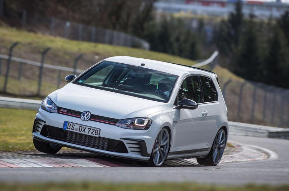 honda-tech.com nurburgring civic type R vs. VW GTI Clubsport S rematch