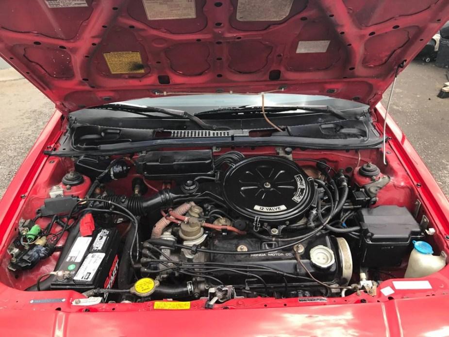 honda-tech.com Honda civic CRX CR-X craigslist find