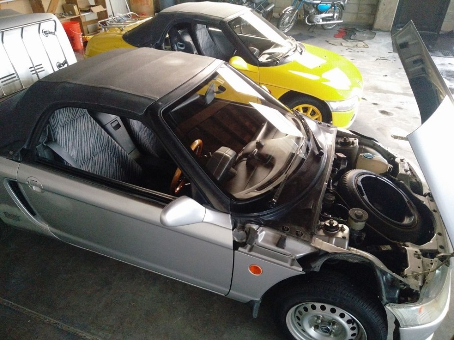 Honda-tech.com JDM import RHD Honda Beat eBay find