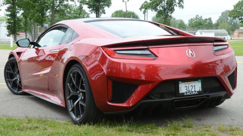 Honda-tech.com Acura NSX Drag Race Quarter Mile Testing Review