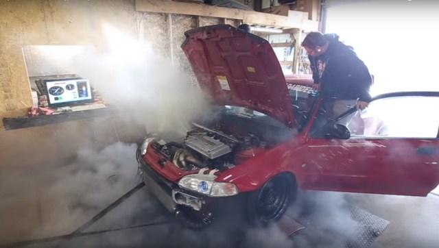 Honda-tech.com Honda Turbo Civic Turbo Dyno Fail