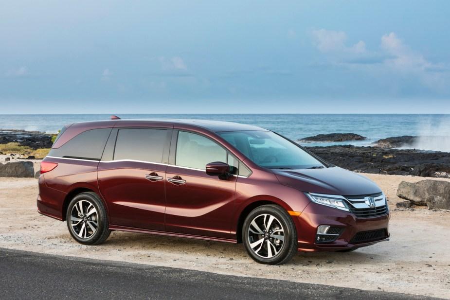 Honda-tech.com 2018 Honda Odyssey porn