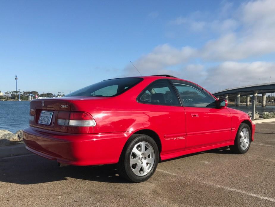 Honda-tech.com EM1 Civic Si BaT BringATrailer