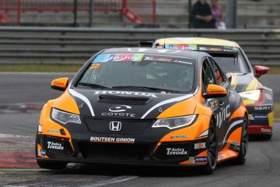 Honda-tech.com Honda Civic Type R racing in the TCR Benelux Series