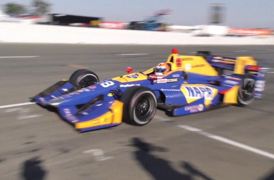2017 IndyCar Alexander Rossi
