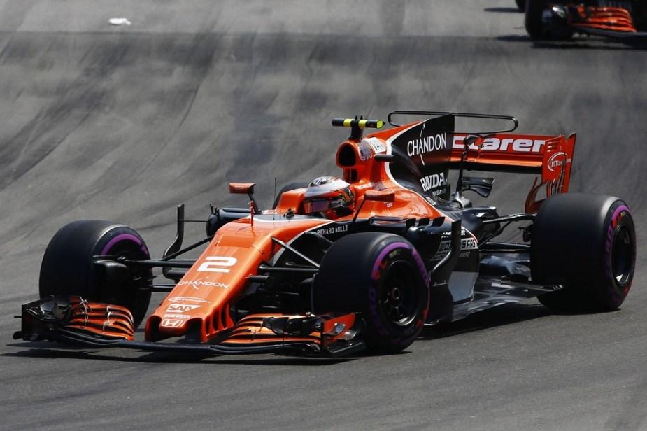 McLaren Honda F1 Split Fernando Alonso