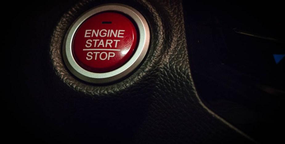Honda Start Button