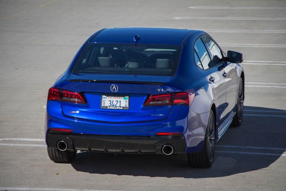 Honda-tech.com 2018 Acura TLX A-Sped Original Review