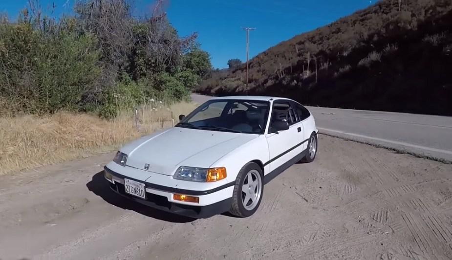 Honda-tech.com Honda CRX B20 Swap