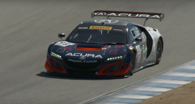 Honda-tech.com RealTime Racing PWC NSX GT3