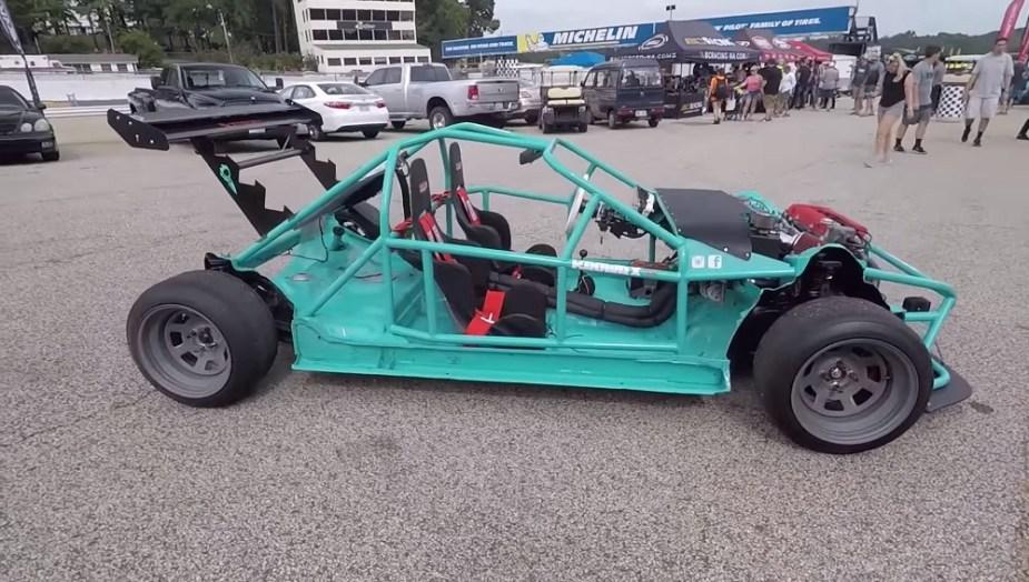 Honda-tech.com KROWRX Integra Acura One Take Review Death Kart