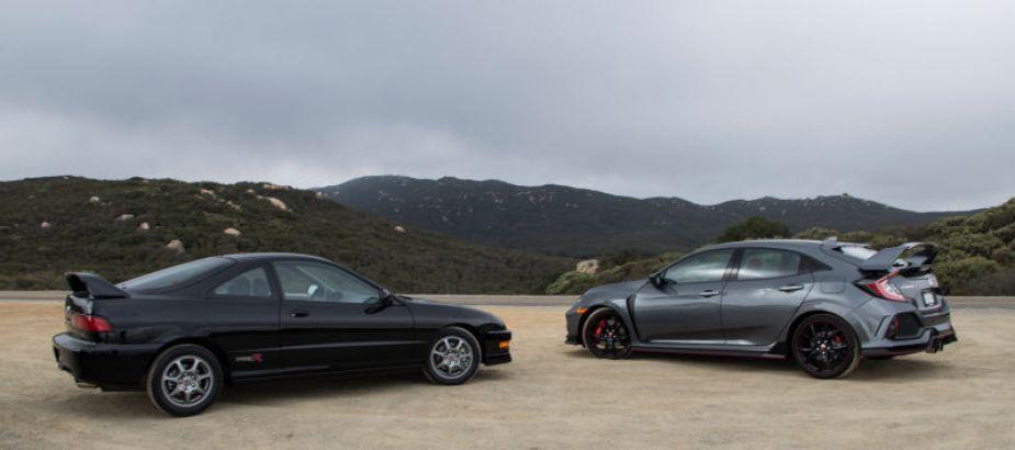 Honda-tech.com Civic Type R vs Integra Type R