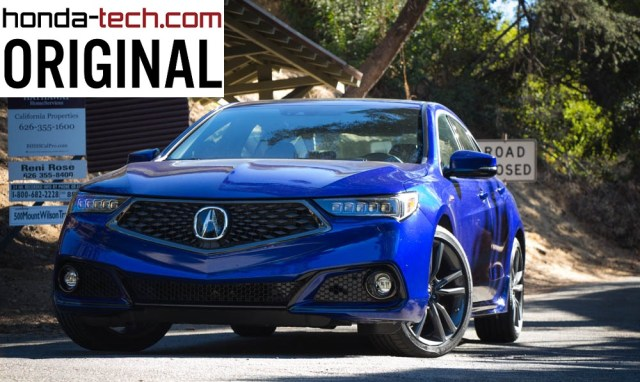 Honda-tech.com 2018 Acura TLX A-Sped Original Review