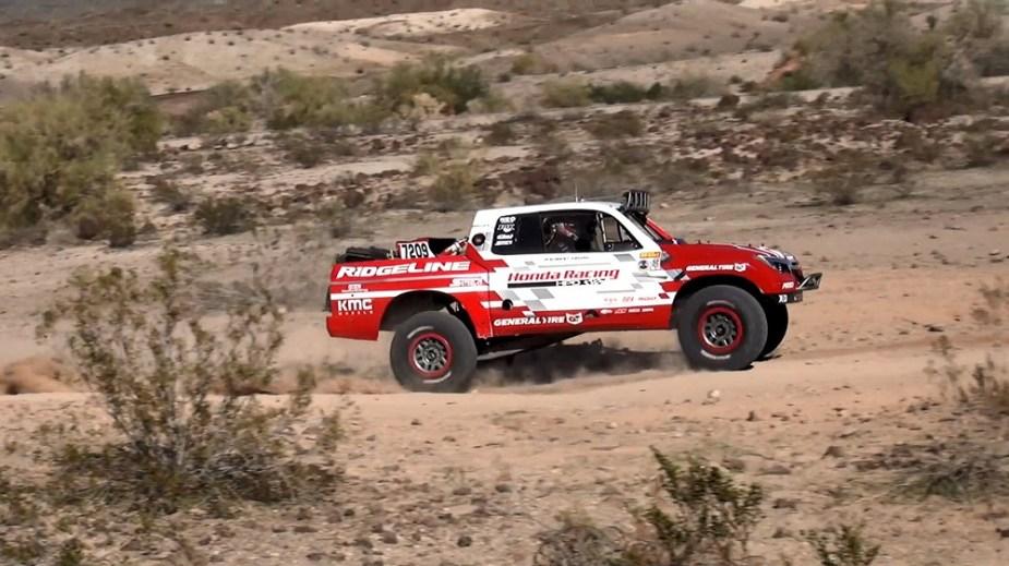 2017 Honda Ridgeline Baja 1000 Podium
