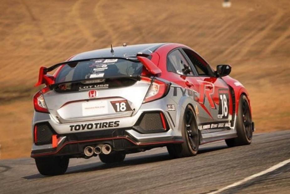 2017 Honda Civic Type R Thunderhill 25 Hours