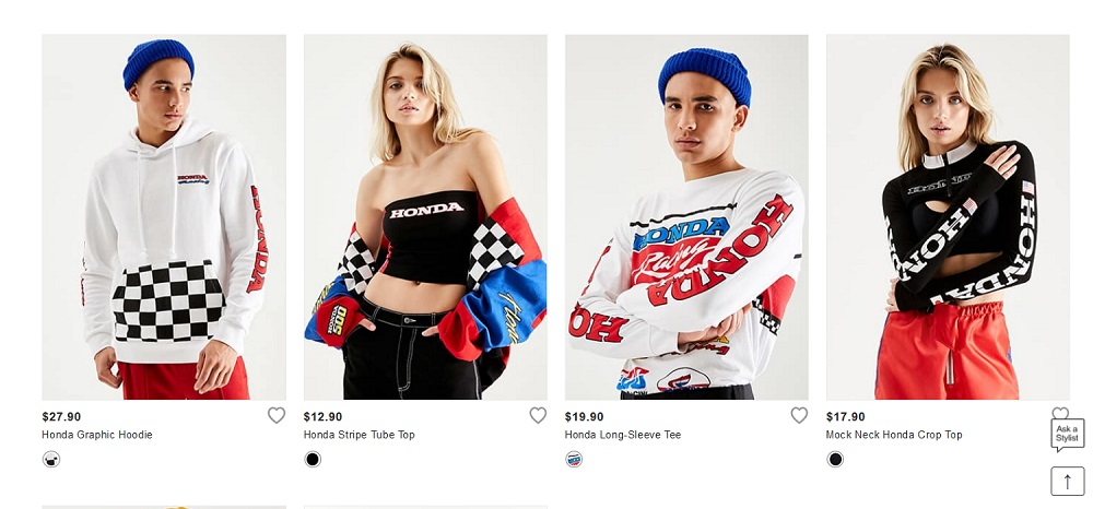 Honda-tech.com Forever 21 x Honda Capsule Collection F21 Fashion News