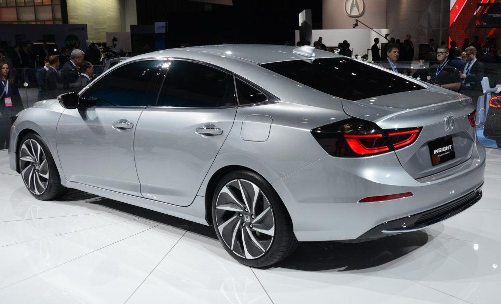 Honda Insight Prototype Rear