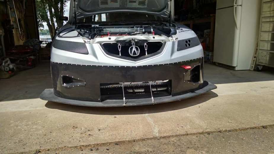 This Built Acura TL Is An Epic Track Day Monster And Is For Sale - Acura tl bc coilovers