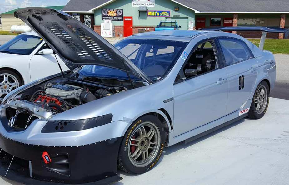 This Built Acura TL is an Epic Track Day Monster, and is For Sale ...