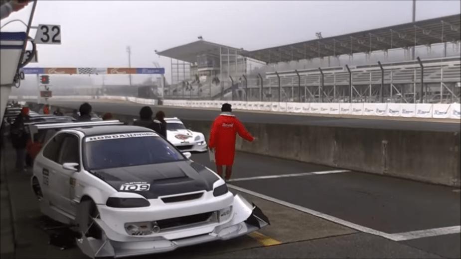 Honda-tech.com Tsukuba Circuit Maximum Challenge Time Attack Honda Civic S2000