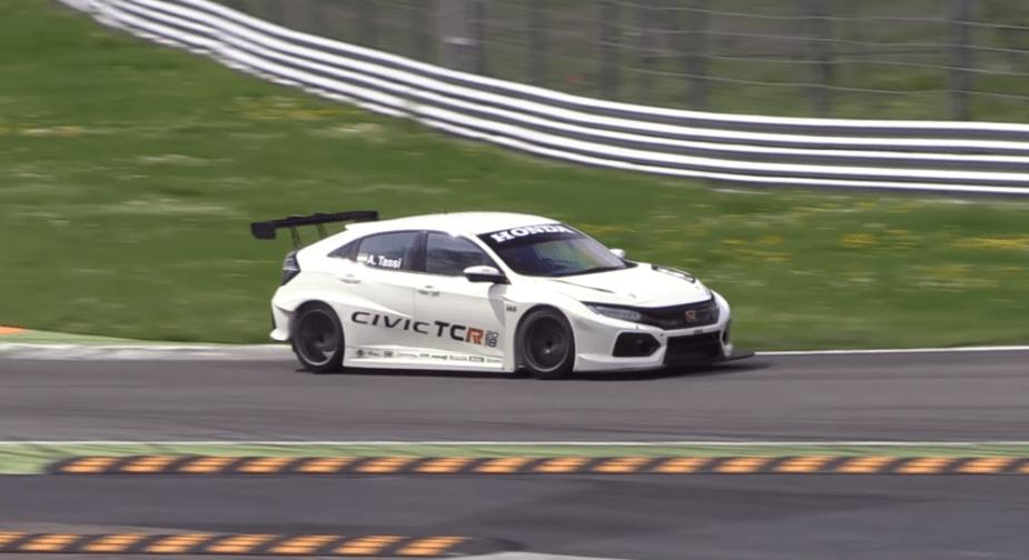 Civic Type R TCR Type R Monza testing