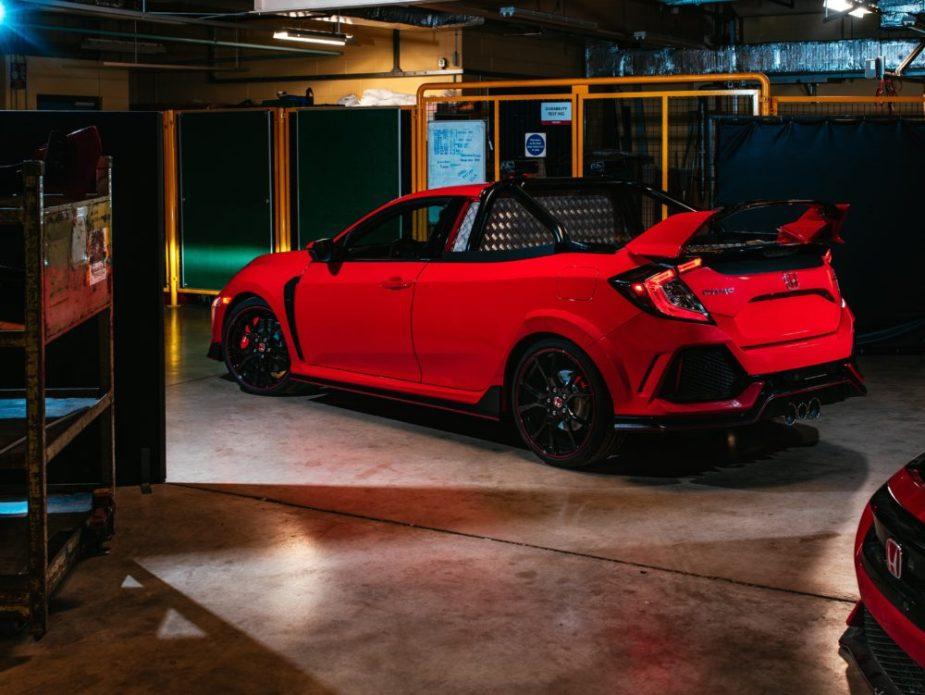Honda Civic Type R Pickup Truck