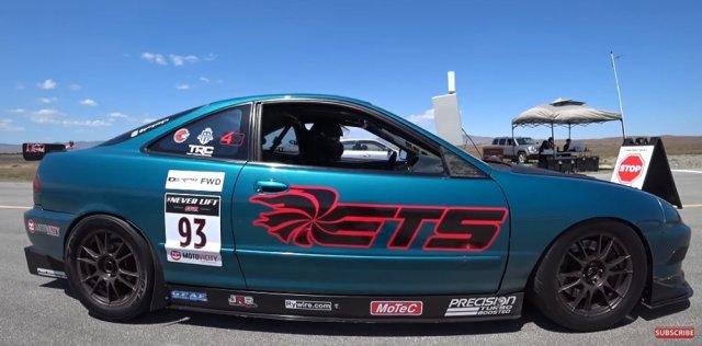 Turbocharged Top Speed Integra Side