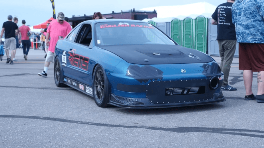 DC2 Integra B18C drag car