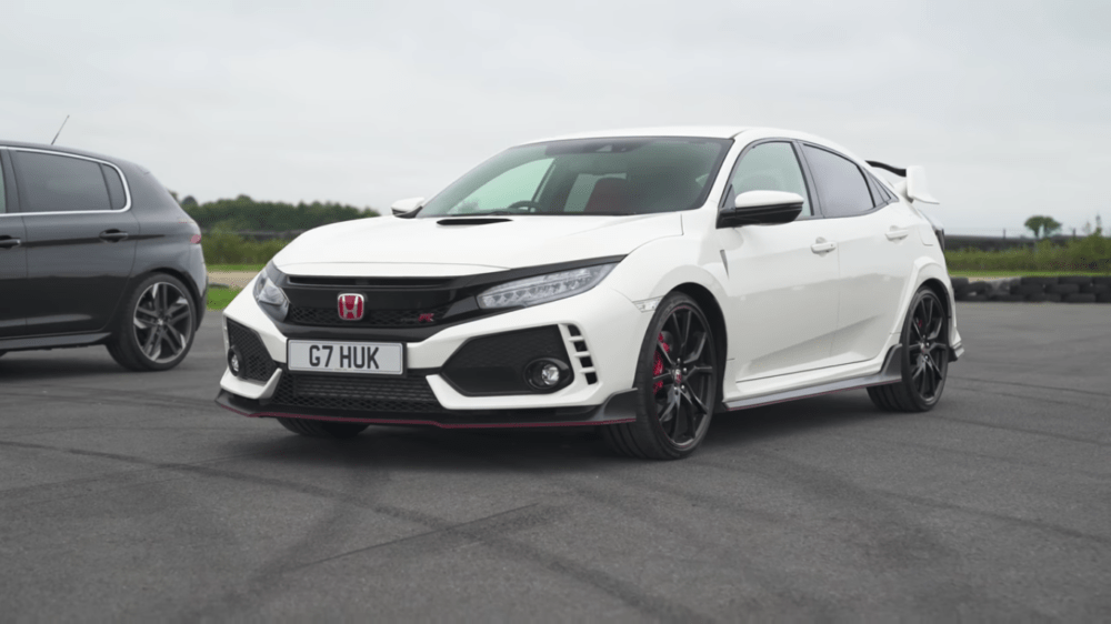 Honda Civic Type R UK Hot Hatch Battle