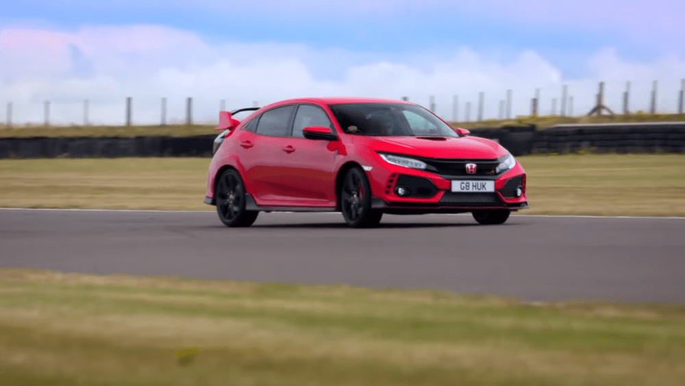 fifth gear civic type r challenge